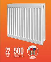 Радиатор KRAFTER S22 500×500 НП
