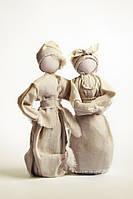 Пара Этно Силуэт 22 см Куклы-мотанка