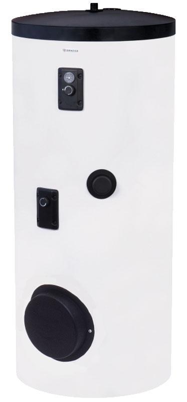 Бойлер косвенного нагрева с двумя теплообменниками OKC 250 NTRR/BP Drazice с бок.фланцем