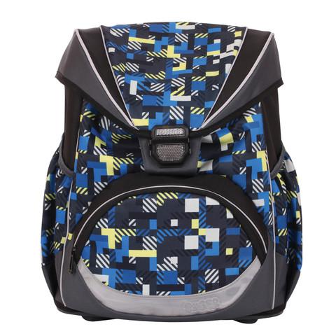 Рюкзак с ортопедической спинкой TIGER FAMILY (ТАЙГЕР) Матрица, 16 л, 38х32х22 см + спиннер в подарок!!!