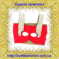 Неопреновый бандаж-маска для коррекции овала лица (лобные, носовые складки, щёки).