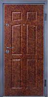 Входные двери металлические, бронированные, с декоративной МДФ накладкой с одной стороны VARTA STANDART VS102