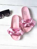 Шлепанцы женские PUMA FENTY D1890 розовые