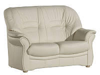 Двухместный кожаный диван JUPITER (160 см)