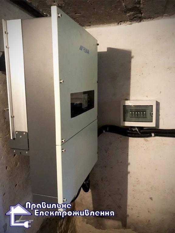Мережева сонячна електростанція 30 кВт м. Стрий 3