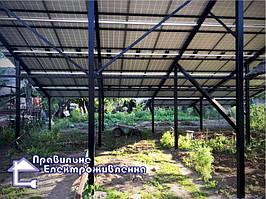 Мережева сонячна електростанція 30 кВт м. Стрий 2