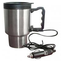 Кружка с подогревом для авто Stainless Steel Smart Mug