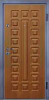 Входные двери металлические, бронированные, с декоративной МДФ накладкой с одной стороны VARTA STANDART VS105