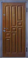 Входные двери металлические, бронированные, с декоративной МДФ накладкой с одной стороны VARTA STANDART VS107