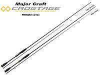 Спиннинговое удилище Major Craft New Crostage Mebaru CRX-S762UL (229 cm, 0.5-5 g)