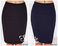 Черная классическая юбка опт и розница 7 км