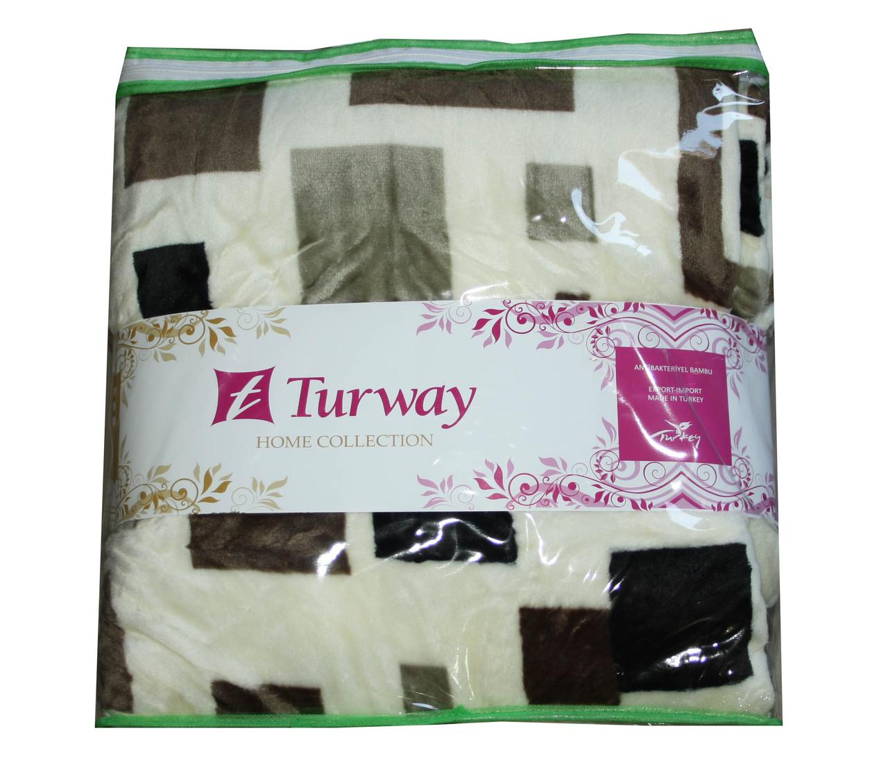 Махровая простыня Turway Home Collection 160*220