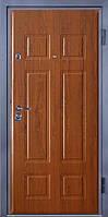 Входные двери металлические, бронированные, с декоративной МДФ накладкой с одной стороны VARTA STANDART VS106