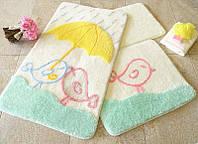 Набор ковриков в ванную комнату