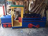 Паровозик детский для детской игровой площадки, фото 5