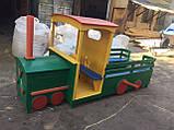 Паровозик детский для детской игровой площадки, фото 7