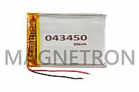 Аккумулятор литий-полимерный 043450 800mAh 35x52mm