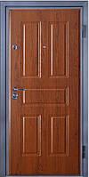 Входные двери металлические, бронированные, с декоративной МДФ накладкой с одной стороны VARTA STANDART VS109