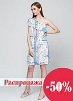 73085 Платье летнее голубое: imprezz.com.ua