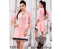 Расклешенное  платье  -  12331