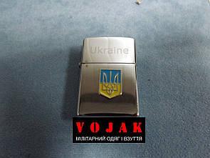 Пьезозажигалка Украина (цвет. герб)