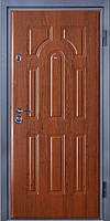 Входные двери металлические, бронированные, с декоративной МДФ накладкой с одной стороны VARTA STANDART VS108