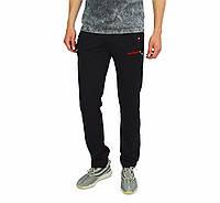Черные мужские спортивные трикотажные штаны DARIO BIACHI, фото 1