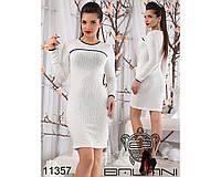 Теплое  платье  -11357