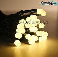 LED гирлянда от AuroraSvet нить (теплый белый) 10м