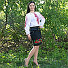 """Женская рубашка - вышиванка """"Ромбы"""", фото 2"""