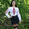 """Женская рубашка - вышиванка """"Ромбы"""", фото 3"""