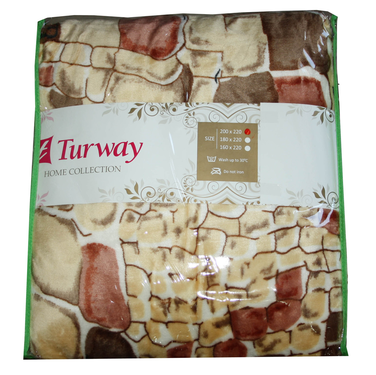 Махровая простыня Turway Home Collection 200*220