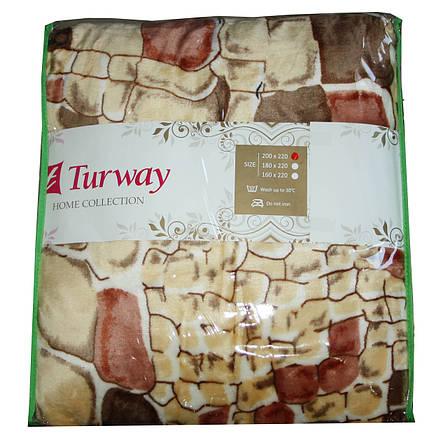 Махровая простыня Turway Home Collection 200*220, фото 2