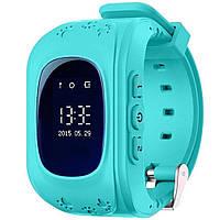 Умные детские часы-телефон Q50 с GPS