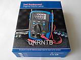 Мультиметр / Тестер HP-37C з автоматичним вибором діапазонів, True RMS, тест акумуляторів/батарейок, NCV, фото 8