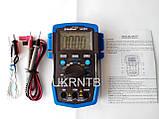 Мультиметр / Тестер HP-37C з автоматичним вибором діапазонів, True RMS, тест акумуляторів/батарейок, NCV, фото 7