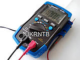 Мультиметр / Тестер HP-37C з автоматичним вибором діапазонів, True RMS, тест акумуляторів/батарейок, NCV, фото 2