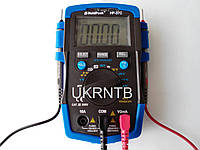 Мультиметр / Тестер HP-37C с автоматическим выбором диапазонов, True RMS, тест аккумуляторов/батареек, NCV