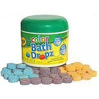 Таблетки для купания Crayola bath dropz ( 10 таблеток)