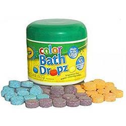 Таблетки для купання Crayola bath dropz ( 10 таблеток)