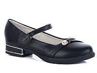 Туфли для девочек подростковые оптом от производителя Башили G23-18 (8 пар, 31-36)