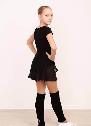 Детский купальник для танцев с коротким рукавом, фото 2