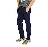 Синие мужские спортивные трикотажные штаны DARIO BIACHI, фото 1
