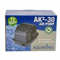 Аэратор AquaKing AK²-30 (Мембранный компрессор, аэратор для пруда, водоема, септика, УЗВ)