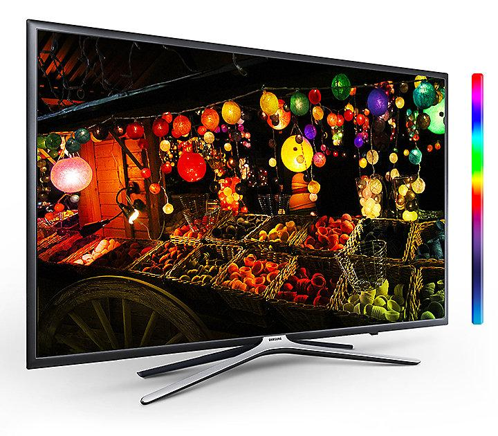 Телевизор Samsung UE43M5590 (PQI 800 Гц, Full HD, Smart, Wi-Fi, DVB-T2/S2)