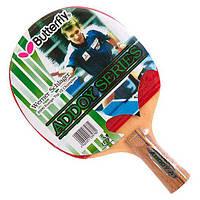 Ракетка для настольного тенниса (пинг понга) Butterfly Addoy Series F-1