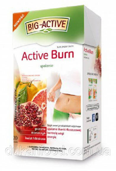 Чай ACTIVE BURN термогенная формула