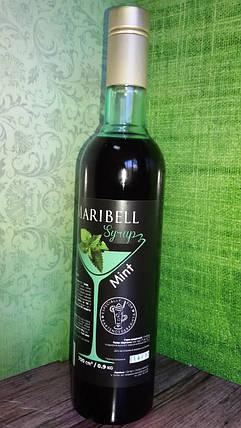 Сироп барный тм «Maribell» Мята, фото 2