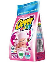 Порошок універсальний Clever Baby для дитячого одягу 2,2 кг .