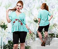 177b847b3fc Скидки на Женская футболка больших размеров в Украине. Сравнить цены ...